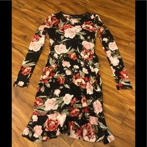 Madden girl dress small floral fitted